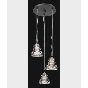 Menlo Park - Three Light Pendant