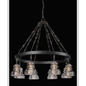 Menlo Park - Eight Light Medium Pendant