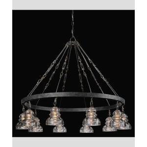 Menlo Park - Ten Light Large Pendant