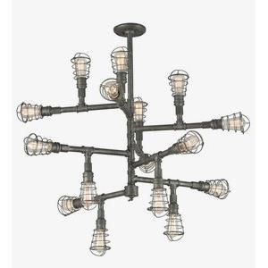 Conduit - Sixteen Light Extra Large Chandelier