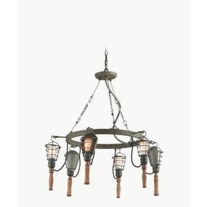 Yardhouse - Six Light Medium Pendant