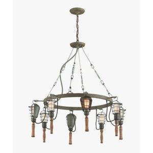 Yardhouse - Eight Light Large Pendant