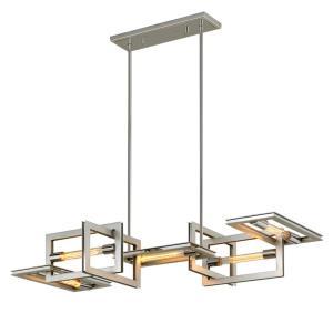 Enigma - Five Light Linear Chandelier