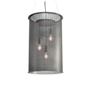 "Clarus - 30"" 60W 3 E26 LED Squares Pendant"
