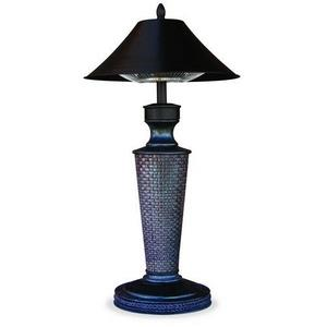 """Endless Summer - 37.4"""" Vacation Day Table Lamp Electric Heater"""