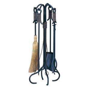 """29.5"""" 5 Piece Fireset with Rope"""