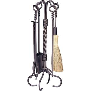"""30"""" 5 Piece Fireset with Ring/Twist Handle"""