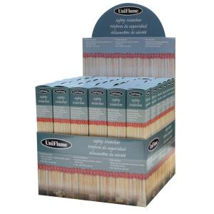 "11"" Premium Safety Matches (36 Count)"