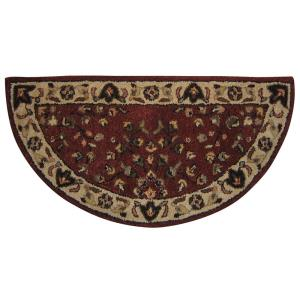 "44"" Hand-Tufted Hearth Rug"