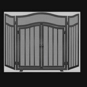 """54"""" 3 Panel Screen with Door"""