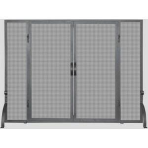 "39"" Single Panel Small Screen with Doors"