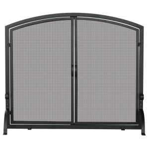 "39"" Medium Single Panel Screen With Doors"