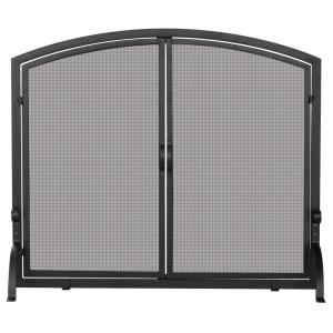 """44"""" Large Single Panel Screen With Doors"""