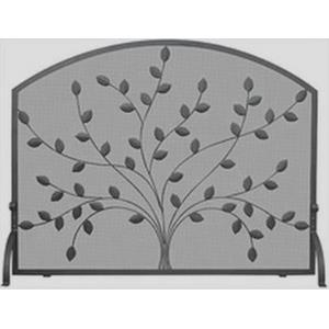 "44"" Single Panel Screen with Leaves"