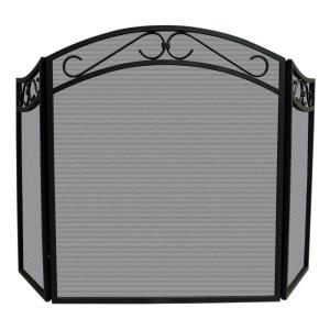 """52"""" 3 Fold Arch Top Screen With Scrolls"""