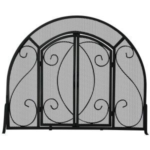 """39"""" Single Panel Arch Top Screen With Doors"""