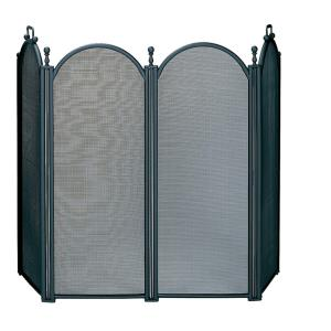 "54"" 4 Large Panel Screen With Woven Mesh"