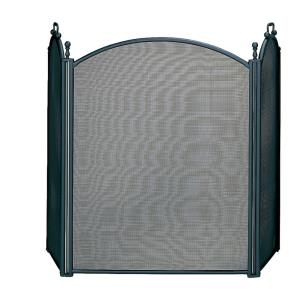 "54"" 3 Large Panel Screen With Woven Mesh"