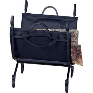 """21"""" Log Holder With Canvas Carrier"""