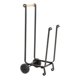 "39.5"" Large Log Rack With Wheels"