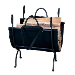 "23"" Deluxe Log Holder With Canvas Carrier"