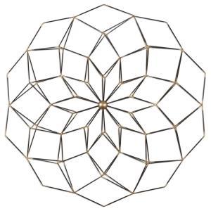 "Dorrin - 30"" Geometric Floral Art"