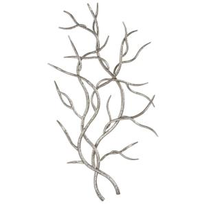 Silver Branches - 37 Inch Wall Decor (Set of 2)