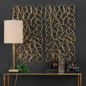 In the Loop - 37.5 Inch Wall Art (Set of 2)