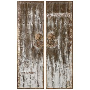 Giles - 60.25 Inch Wall Art (Set of 2)