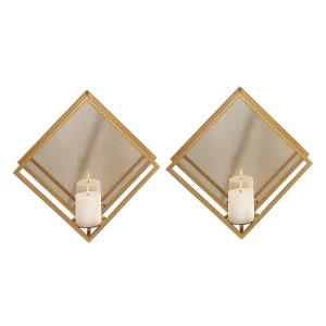 """Zulia - 16"""" Candle Sconce (Set of 2)"""