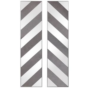 Jeannie - 48 Inch Mirrored Wall Decor (Set of 2)