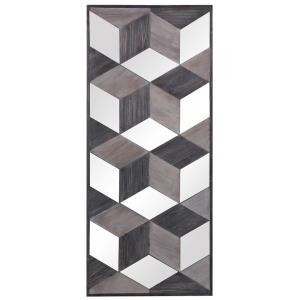 Ambie - 48 Inch Mirrored Wall Decor