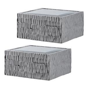 "Jessamine - 8"" Wall Shelves (Set of 2)"