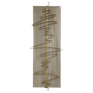 Script - 49 inch Metal Wall Decor - 18.5 inches wide by 3.35 inches deep