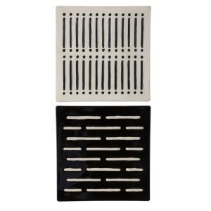 "Domino Effect - 16"" Modern Wall Decor (Set of 2)"