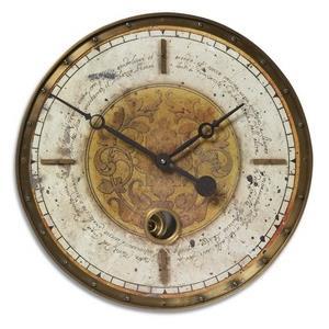 "Leonardo - 18"" Script Wall Clock"