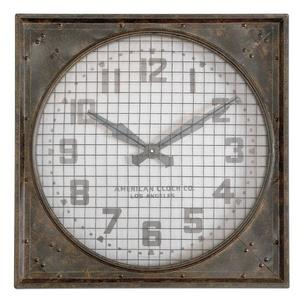 Warehouse - 26 inch Wall Clock with Gril