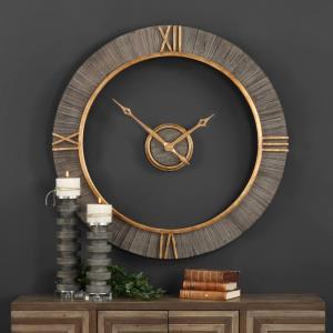 "Alphonzo - 39.38"" Modern Wall Clock"