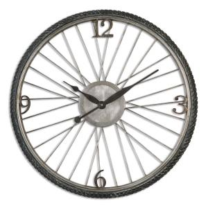 Spokes - 26.25 inch Wall Clock