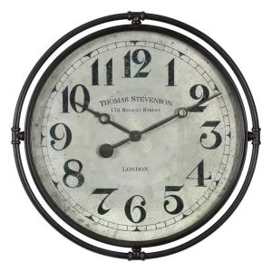 Nakul - 29.5 Inch Industrial Wall Clock