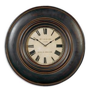 "Adonis - 23.75""  Wooden Wall Clock"