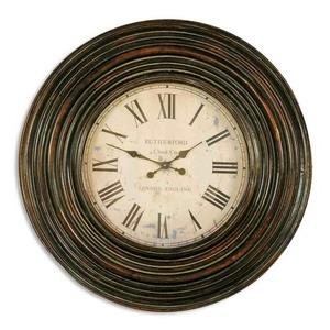 "Trudy - 38"" Wooden Wall Clock"