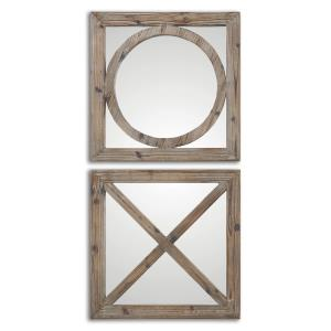 Baci E Abbracci - 18 inch Mirror (Set of 2) - 18 inches wide by 1 inches deep