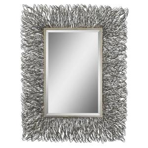 "Corbis - 44"" Modern Rectangular Mirror"