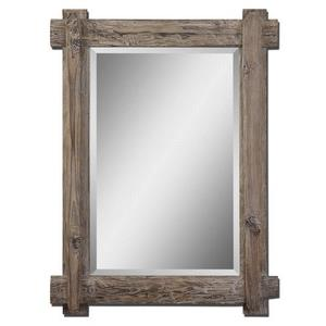 "Claudio - 39.25"" Wood Vanity Mirror"