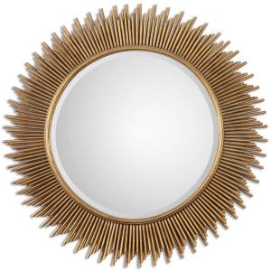 Marlo - 36 inch Round Mirror - 36 inches wide by 1.25 inches deep