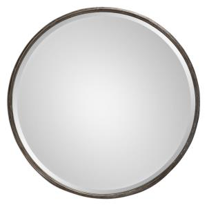 Nova - 24 inch Round Mirror - 24 inches wide by 3 inches deep