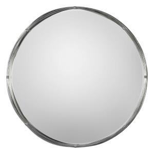 Ohmer - 40 inch Round Metal Coils Mirror