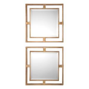 Allick - 18 inch Square Mirror (Set of 2)