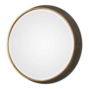 Sturdivant - 26.5 inch Round Mirror - 26.5 inches wide by 4.5 inches deep